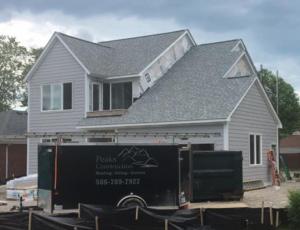 siding, roof