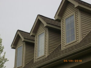 windows, dormer addition
